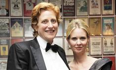 Синтия Никсон и ее подруга Кристин Маринони поженились
