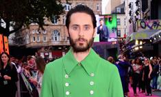 Это любовь: Джаред Лето и зеленый плащ Gucci