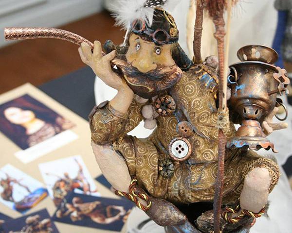 Наталья Савенко, Выставка «Тайна кукольного шкафа», фото