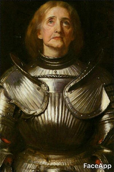 легендарные красавицы в старости Жанна д'Арк