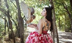 Самые красивые татуировки ростовчанок: голосуем!