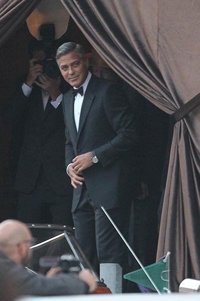 Джордж Клуни женился