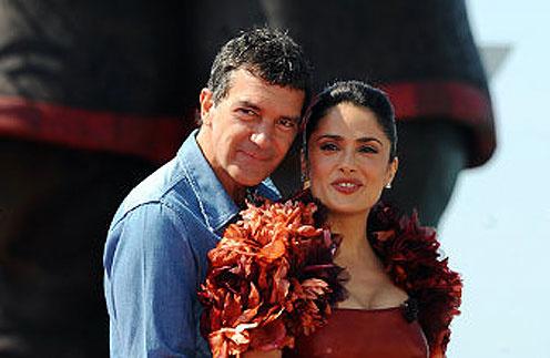 Антонио Бандерас (Antonio Banderas) и Сальма Хайек (Salma Hayek)