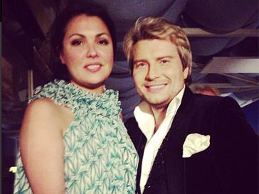 Николай Басков и Анна Нетребко