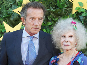 85-летняя герцогиня Альба выходит замуж за 60-летнего Альфонсо Диеса