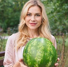Актриса Анна Невская рассказала, как выбрать арбуз