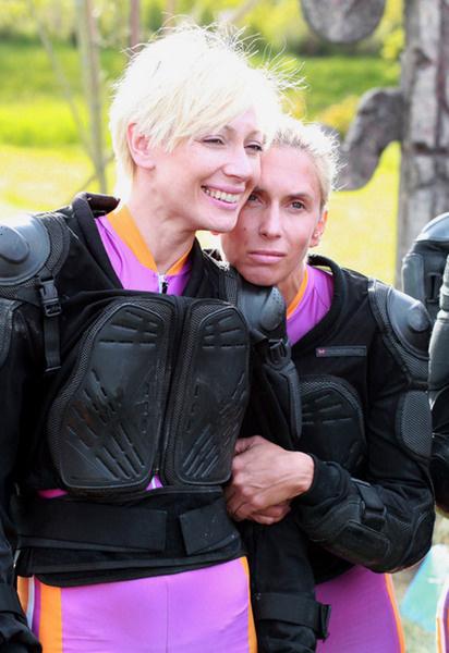 Аврора и Алена Свиридова.