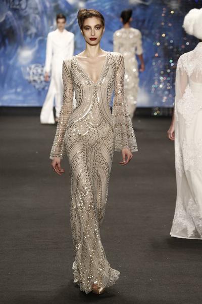 Самые роскошные вечерние платья Недели моды в Нью-Йорке | галерея [3] фото [2]