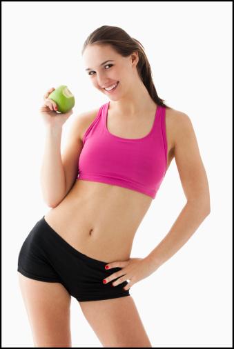 яблоки после тренировки