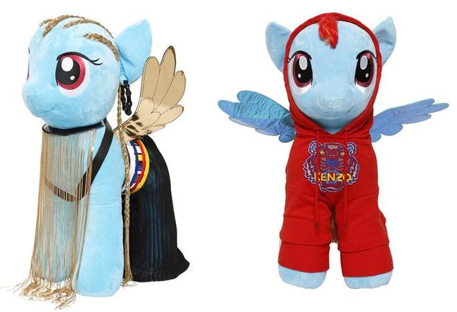 мировые дизайнеры выпустили коллекцию игрушек my little pony