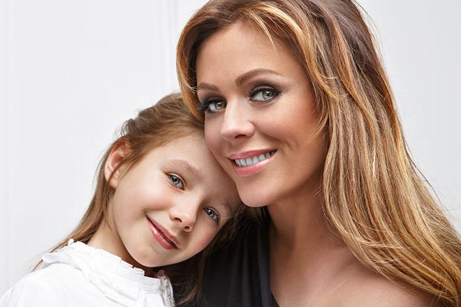 Юлия Началова с дочкой фото