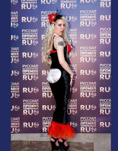 Вручение музыкальной премии RU.TV