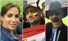 Звезды на футболе: Барановская в обнимку с Аршавиным и другие