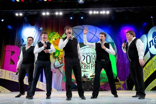 Команда КВН «Четыре татарина» возвращается на сцену