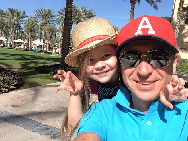 Алексей Ягудин с дочкой фото