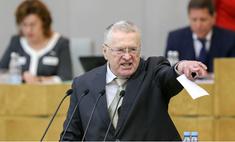 Жириновский предложил изменить гимн, на что Михалков предложил заменить Жириновского
