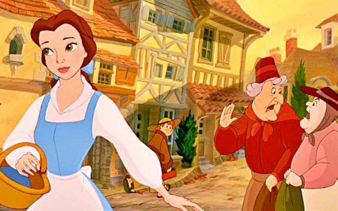 Городок Белль из мультфильма «Красавица и Чудовище»