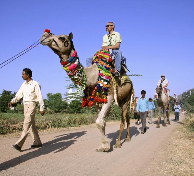 Следующая ступенька в туристической карьере – гиды.