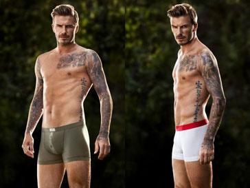 Дэвид Бекхэм (David Beckham) в рекламной кампании H&M