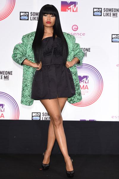 В этом наряде Ники Минаж появилась на Премии MTV EMA 2014