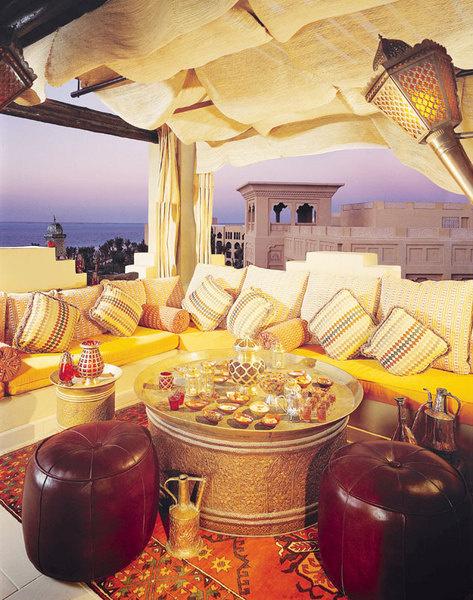 Модный Rooftop Bar в отеле One&Only.