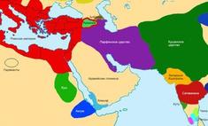 политическая карта мира века эры