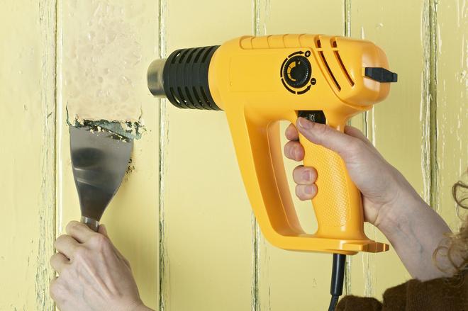 как избавиться от краски на стенах