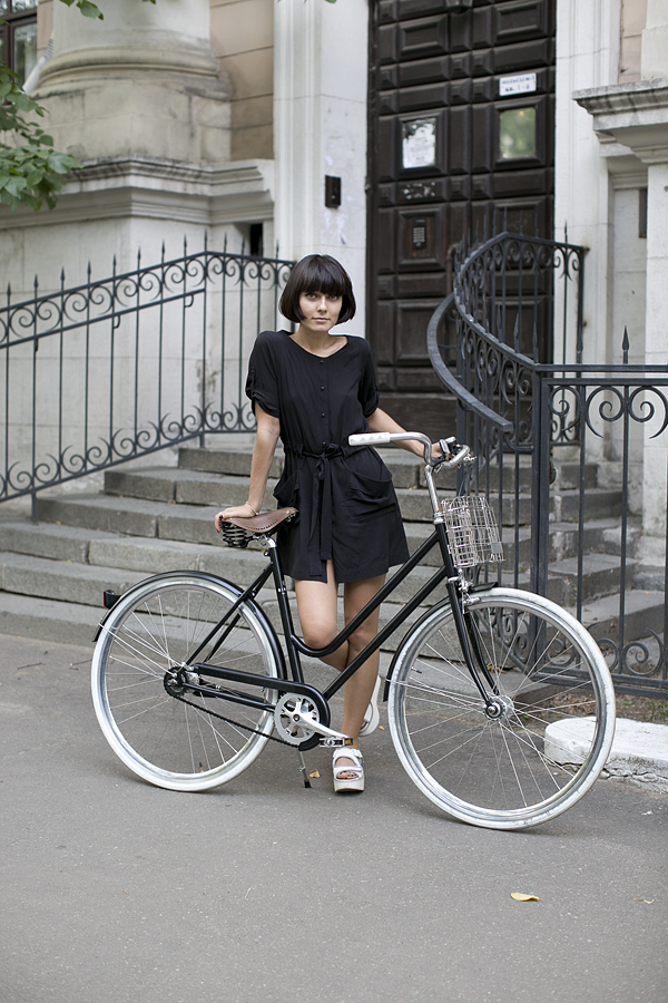 Модный велосипед для девушки
