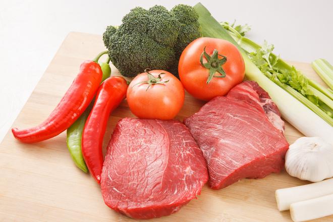 Витамины, содержащиеся в мясе