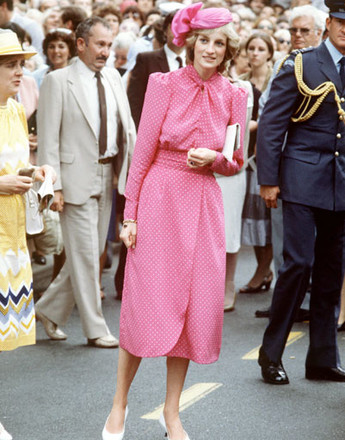 Принцесса Диана на скачках в Аскоте, 1983 год