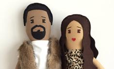 Появились куклы Уэста и Кардашьян