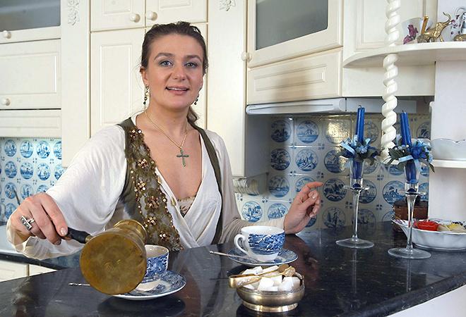 Оливье с креветками, рецепт Анастасии Мельниковой, фото