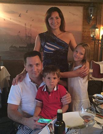 Юлия Франгулова, семья