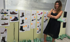 Жанна Бадоева создала коллекцию туфель