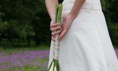 Модная тенденция: букет невесты из лилий