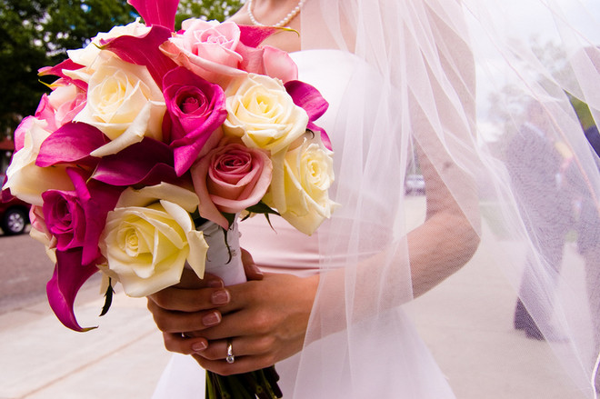 Красивые свадебные букеты