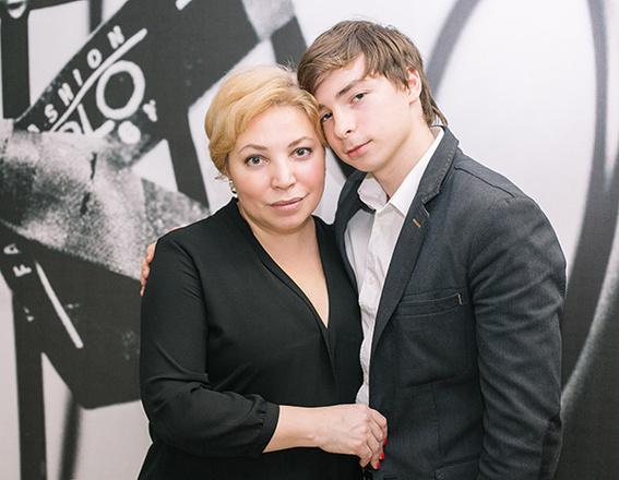 Наталия Соломеина, семья