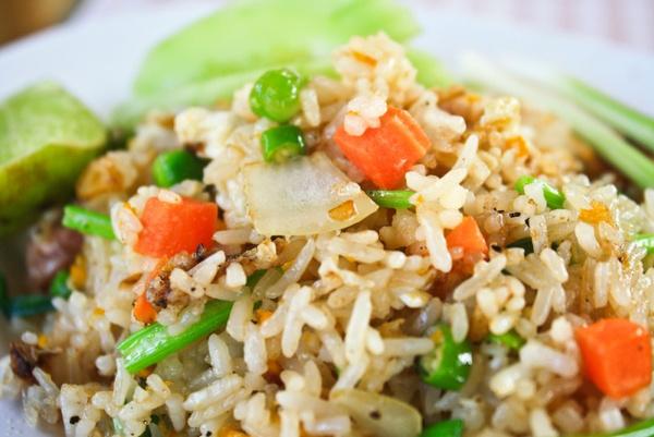 Овощная заправка к рису