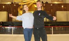 Плющенко научил сирот кататься на коньках