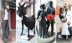 Коза, сапожник и городовой: выбери самый необычный памятник Нижнего Новгорода