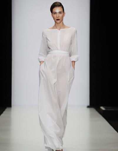 Mercedes-Benz Fashion Week: Chistovaendourova, весна-2012