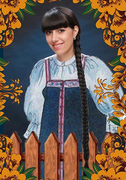 Ирина Костина, «Уральская краса – русская коса», фото