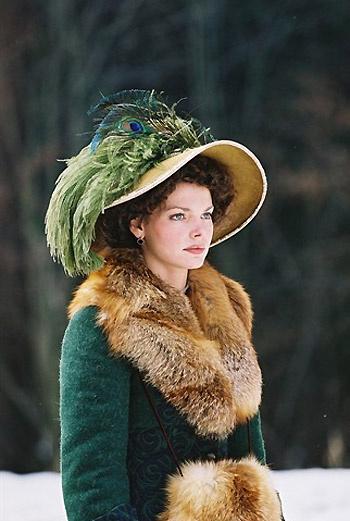 Одна из самых известных ролей Лизы в фильме «Адмиралъ». Как пресса не обсуждала ее отношений с Константином Хабенским, девушка выбрала Максима Матвеева.