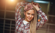 Мастер-класс: как плести африканские косички