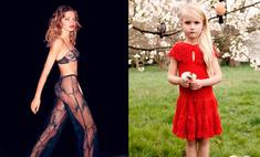 Дочь Натальи Водяновой стала моделью