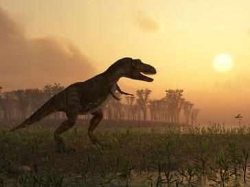 Ученые предполагают,что древние люди жили вместе с динозаврами