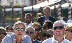 Джордж Клуни отдыхает в Венеции. Фото