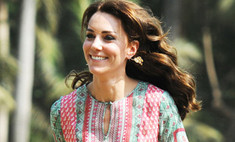 Хиппи шик: Миддлтон перекроила дизайнерское платье
