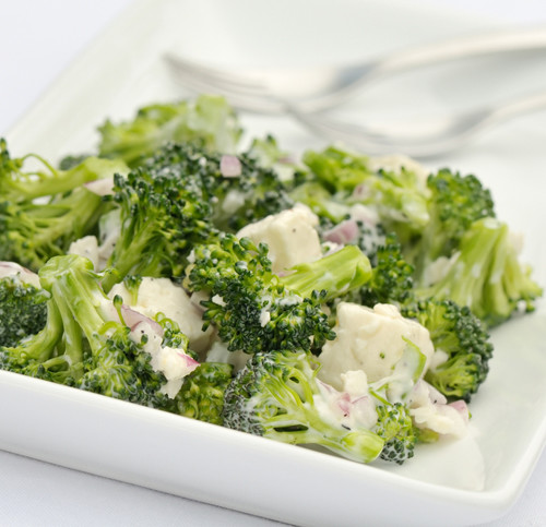Капуста брокколи салат фото