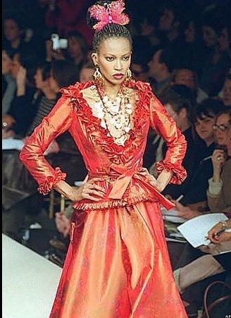 Ив Сен Лоран ввел моду на андрогинность и темнокожих моделей